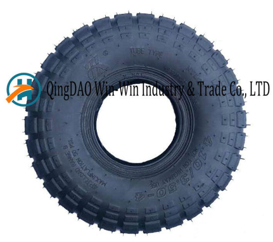 PU Foam Wheel for Two Wheel Hand Trolley Tire (3.50-4)