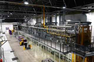 Continuous Al. Solution and Ageing Heat Treatment Line