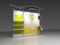 Trade Show Booth Hs Code : M exhibition booth advertising display stand tradeshow equipment