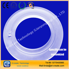 Quartz ring, high temperature gasket, quartz glass flange, ring chemical bonding pieces custom processing