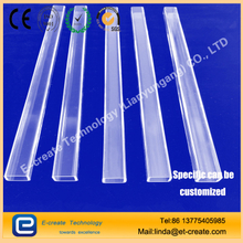 Borosilicate Large Ratio Rectangular Tubing