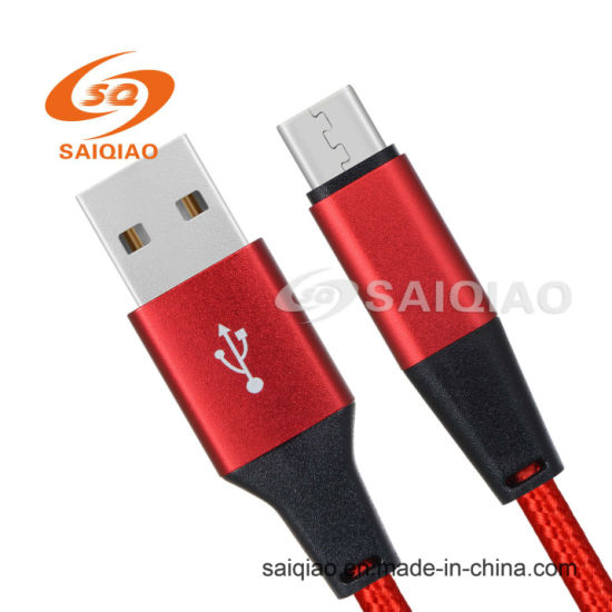 The New Red Type-C2.0 Braided Charging Data Cable for Samsung