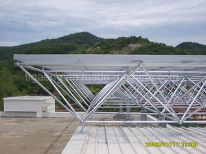 Good Quality Heavy-Duty Workshop/Euro Steel Structure Project for Sierra Leone