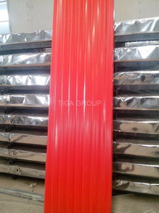 Manufacture Professional Color Coated PPGI Corrugated Steel Roofing Sheet