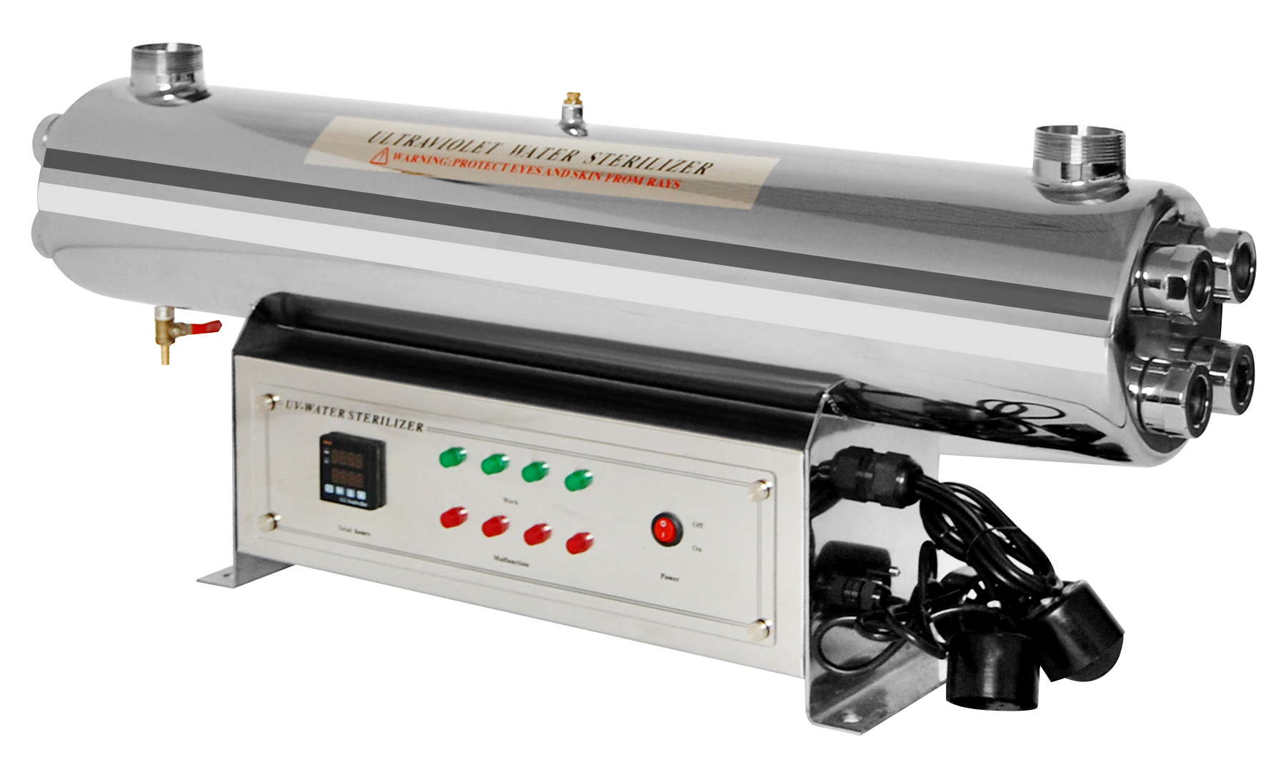High-end Stainless Steel UV Water Sterilizer 220W