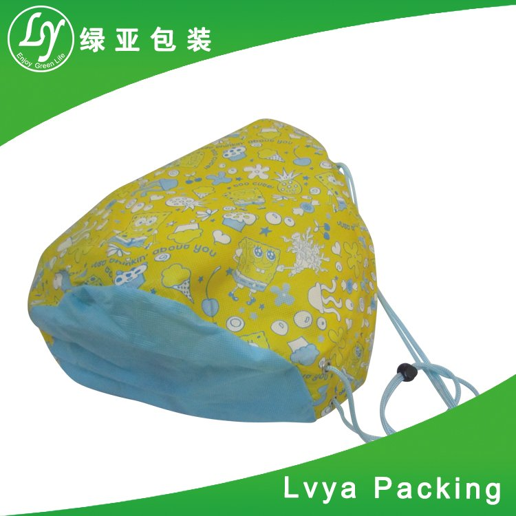 Drawstring Style Foldable Shopping Non Woven Bag Of China Exporter