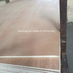 18mm Okume Plywood Poplar Core E1 Glue BB/CC Grade