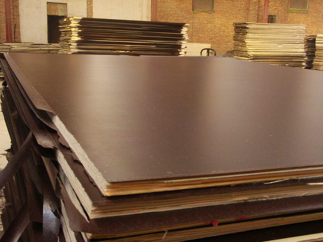 Hardwood/Birch Core Film Faced Plywood for Shuttering (HBH001)