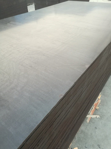 Marine Film Faced Plywood Poplar/Birch Core WBP Glue for Construction