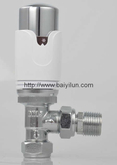 Thermostatic radiator Red Copper valve