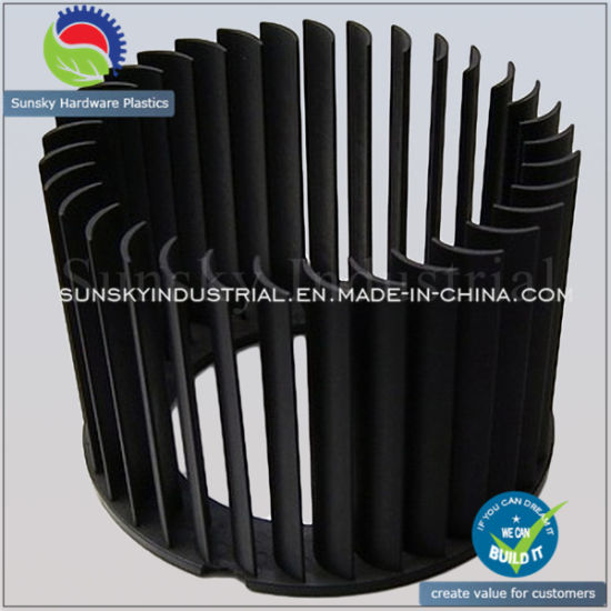 Plastic Moulding Plastic Part Blower Fan Wheel (PL18017)