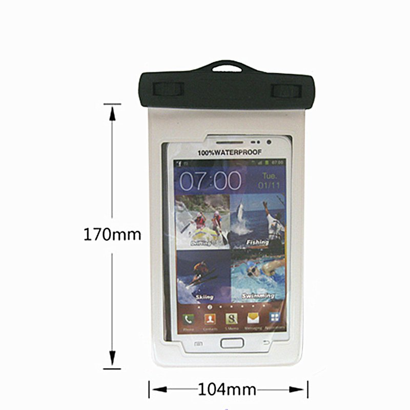 Sport Swimming Armband Waterproof Phone Bag for iPhone 8