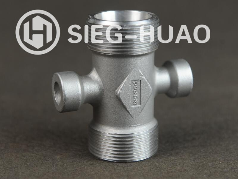 Investment Casting Stainless Steel Cross for Pipe Fittings