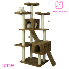 Corrugated Cardboard Cat Tree Scratcher