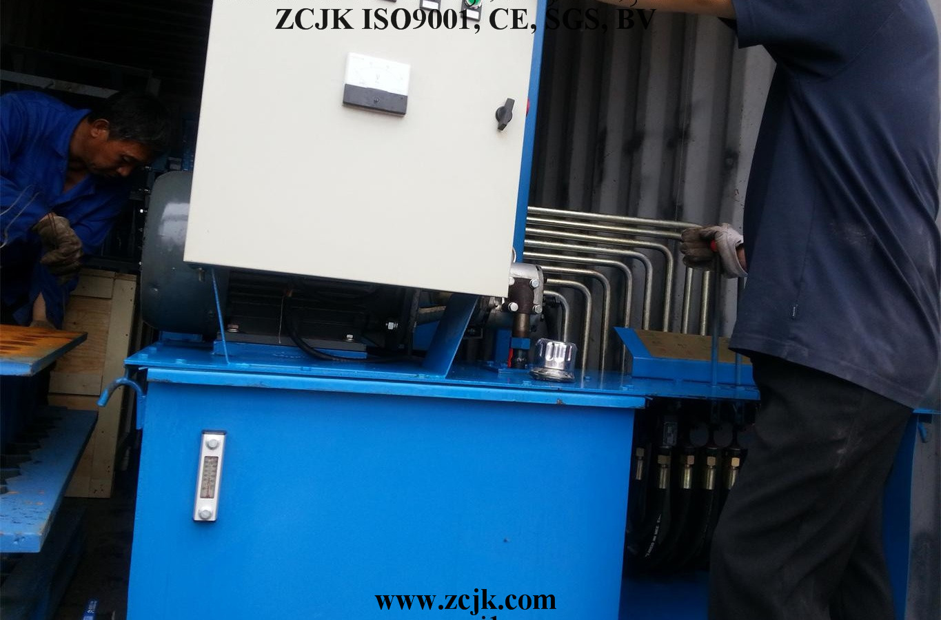 Bhutan ZCJK 4-20A Brick making machine (3)