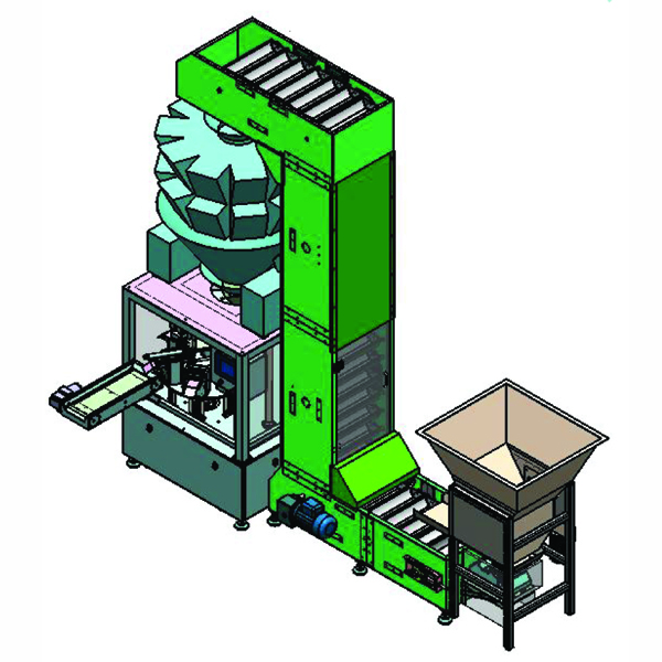 tobacco premade pouch packing machine
