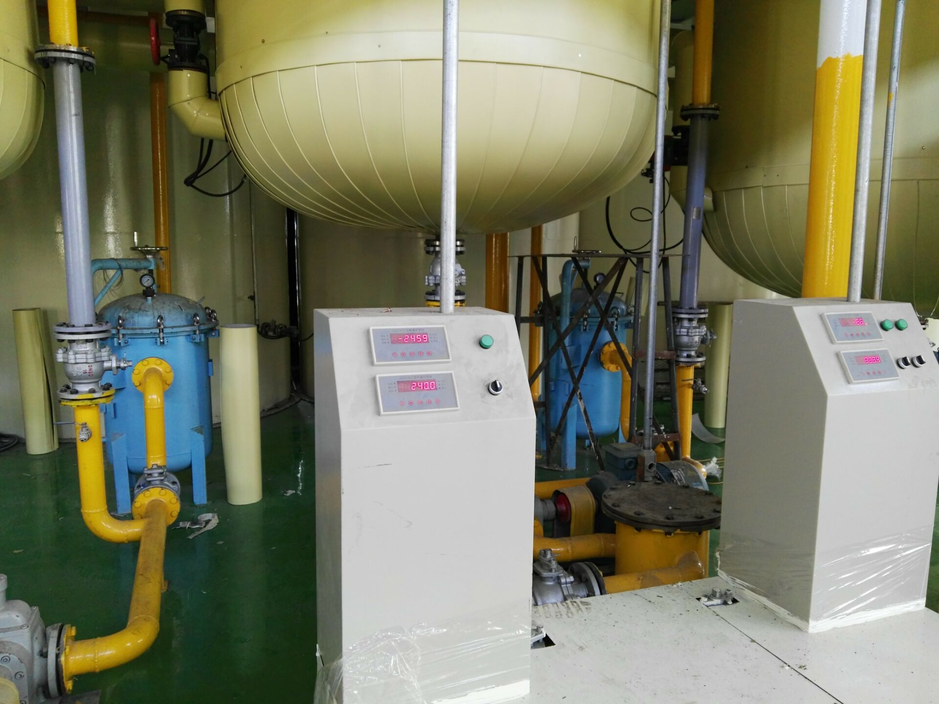 KYLOWEIGH OIL TANK WEIGHING SYSTEM