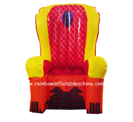RB20006-4(1.2x1.2x2.39m) Inflatable Rainbow party chair