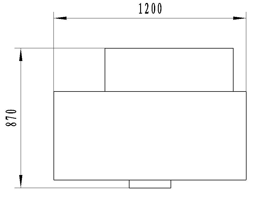 KB1 multifunction flanging machine layout size