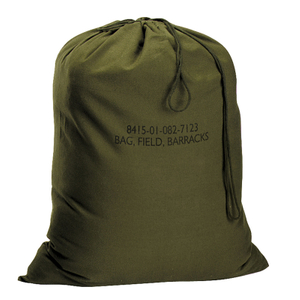 Olive Drab Military Barracks Laundry Bag