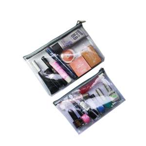 Custom Clear Makeup Bag Zipper Purse