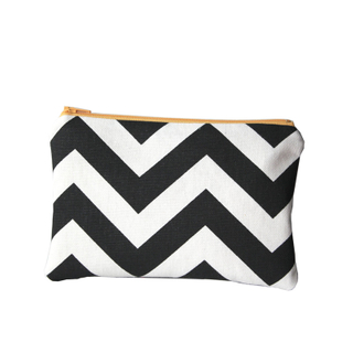 Custom Fashion Chevron Makeup Bag