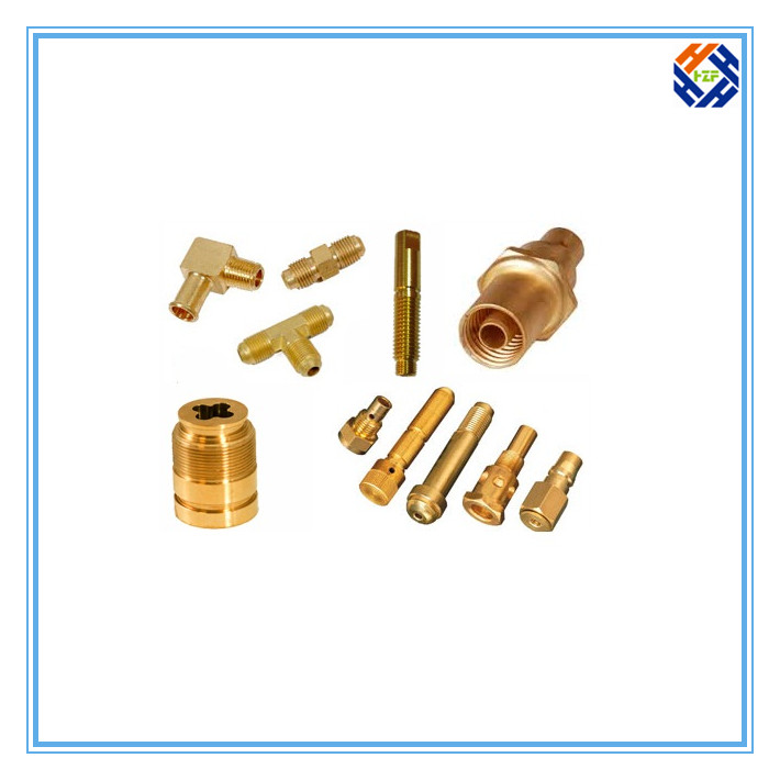 Brass Fasteners Bolt by CNC Machining-4