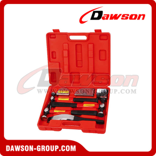 DSHS-E3412 Ferramentas de reparo do corpo 7 PCS Panel Beating Set