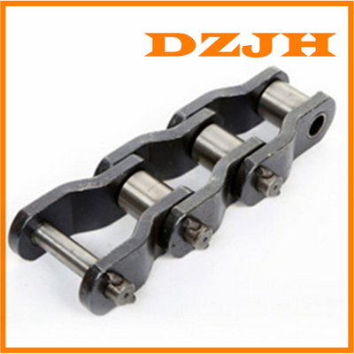 Heavy-duty cranked-link transmission chains