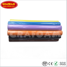 Color Eva foam rolls with shrinking packing