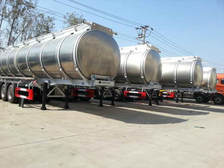 5 sets Aluminum alloy OIL TANKER SEMI-TRAILERS to GHANA price