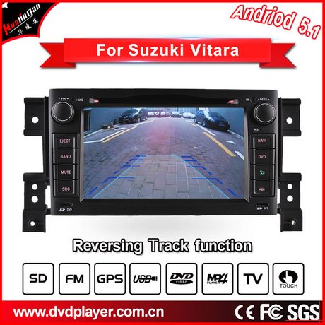 "7""Anti-Glare Suzuki Grand Vitara Carplay Audio Navigation"