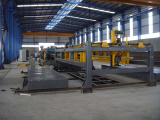 automatic cut to length line machine