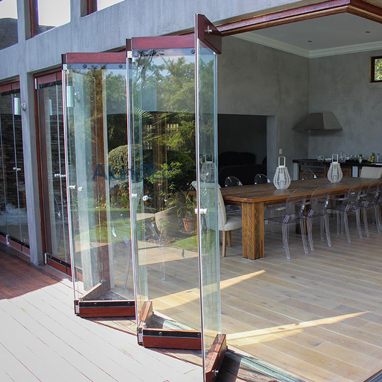 Bi Folding Glass Doors And Aluminum Frameless Bifold Glass Windows   Buy  Unframe Doors And Windows, Unframe Bifold Doors And Windows, Glass Bifold  Doors And ...