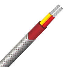 Stainless steel braided PVC insulated thermocouple wire and thermocouple extension wire