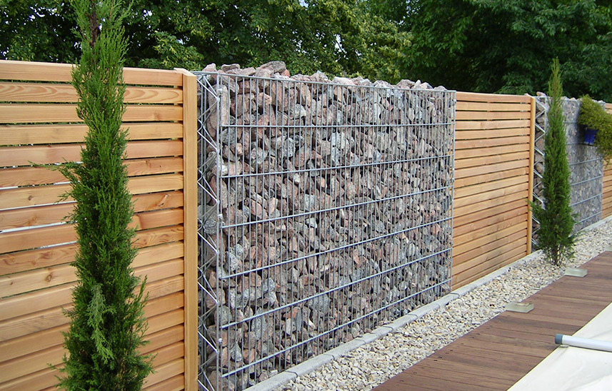 Gabion Walls Design Guide Diamond Wire Netting Finished