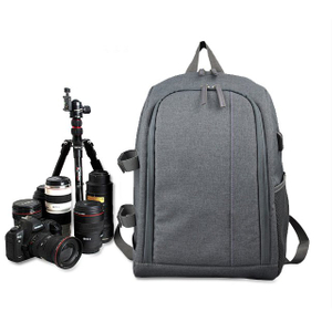 Canon SLR professional camera bag, backpack, large capacity Nikon men and women digital outdoor photography bag, computer backpack