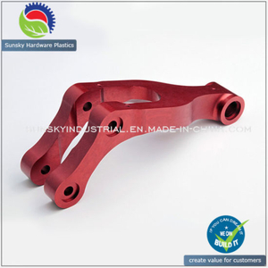 CNC Machined Motorcycle Suspension Part (AL12062)