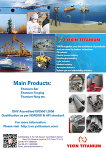 YIXIN TITANIUM----Serving for different industries
