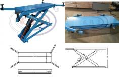 Ineternal Scissor lift for Spray Booth