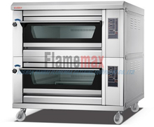HEO-40T hot sale Digital Electric Baking Oven for restaurant in Foshan (2-deck 4-tray)
