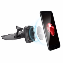 APPS2Car CD Car Phone Magnet Mount Solid CD Grip Cradle Fit All CD Slots Magnetic Cell Phone Mounts