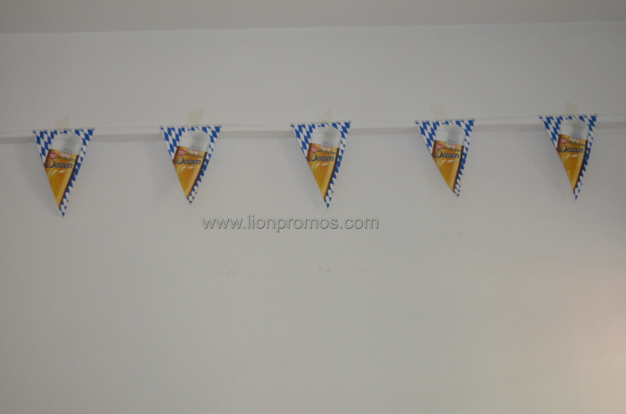 Beer Advertising Printing Shop Decoration Pennant String Banners