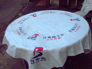 Beer Wine Beverage Custom Printing Promotional Gift Table Cloth