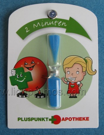 Children Promotional Gift Custom Printing Shape 2mins Bath Sand Timer