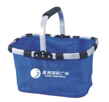 Supermarket Promotional Gift Folding Up Shopping Basket