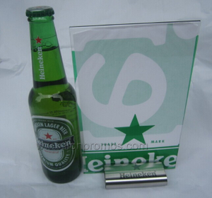 Beverage&Beer Promotional Gift Stainless Steel Restaurant Bar Menu Holder
