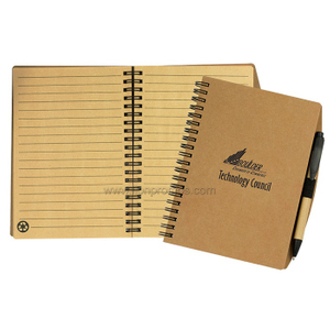 ECO Friendly Recyled Paper Spiral Coil Note Book