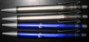 Hamilton Hotel&Resorts Plastic ball Pen
