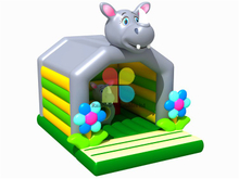 RB01026(4x5m ) Inflatable Popular hippo Bouncer for Kids